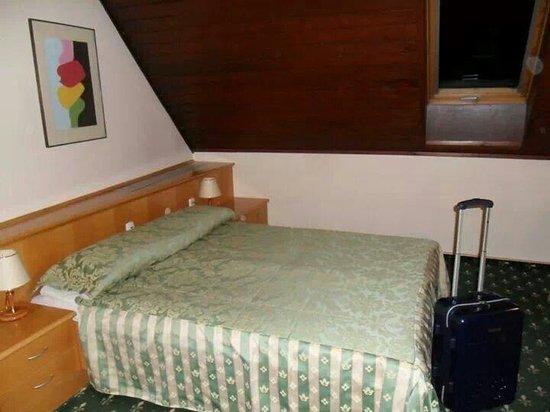 Hotel Mrak: Semplice e pulito. A novembre aprivamo le finestre perché il riscaldamento era a palla (ma megli