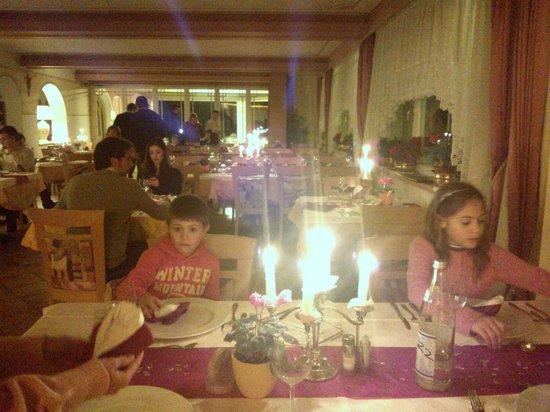 Hotel Ludwigshof: La cena a lume di candela