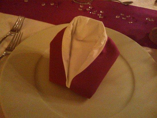 Hotel Ludwigshof: La cena del sabato sera.