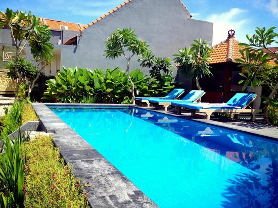 La House : The pool area