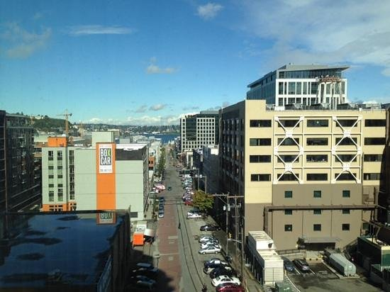 Pan Pacific Seattle: Zimmerausblick