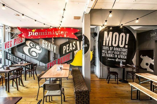 Pieminister's Cattle Market Pop-Up Pie & Mash Shop