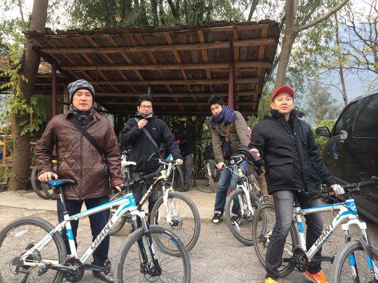 Yangshuo Tea Cozy: Bicycle tour