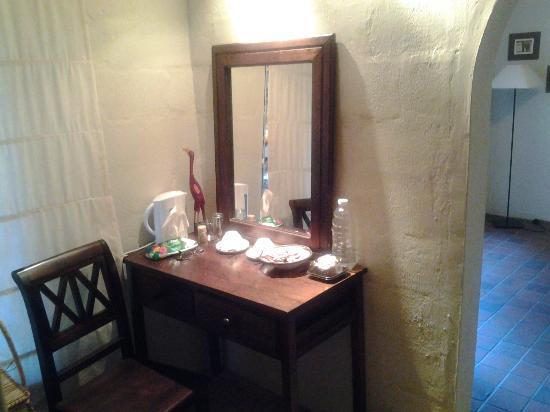 Zebra Hills Safari Lodge: photo of dressing room