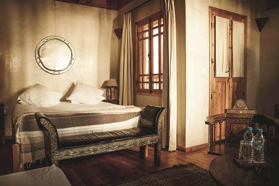 Riad Chbanate : The bedroom