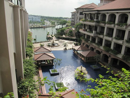 Casa del Rio Melaka : View from our Deluxe-Lago room