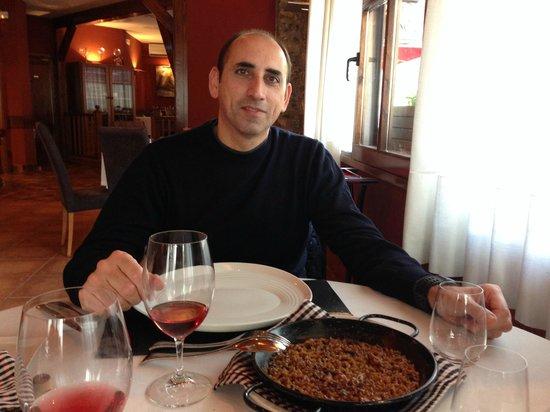 El fogony: Arroz de conejo, verduras y azafrán de Jiloca