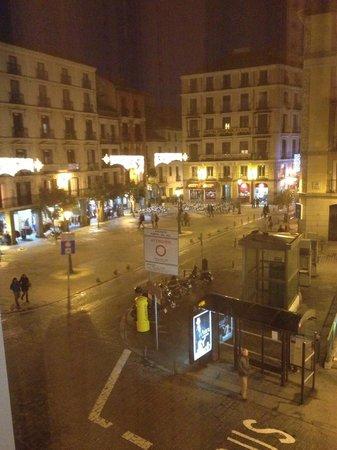 Hotel Plaza Mayor: 部屋からのながめ