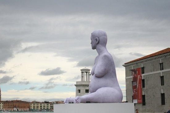 San Giorgio Maggiore: странная скульптура
