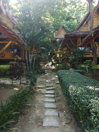 Phi Phi Relax Beach Resort : Bungalows