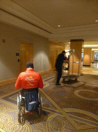 New York Hilton Midtown: Lobby... hotel cómo y accesible