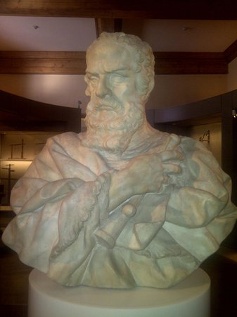 Museo Galileo - Institute and Museum of the History of Science: Busto di Galileo Galieli.