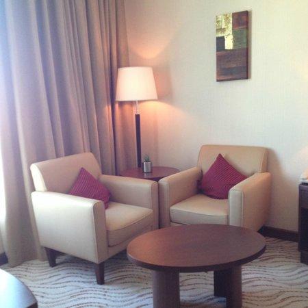Park Regis Kris Kin Hotel: my favorite corner