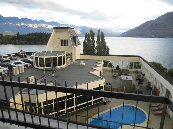 Rydges Lakeland Resort Hotel Queenstown : View from Lake View Room