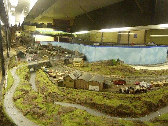National Emergency Services Museum : model railways,