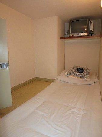 Hotel Asakusa & Capsule : コンセントあります