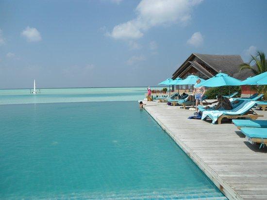 Anantara Dhigu MaldivesResort : pool area