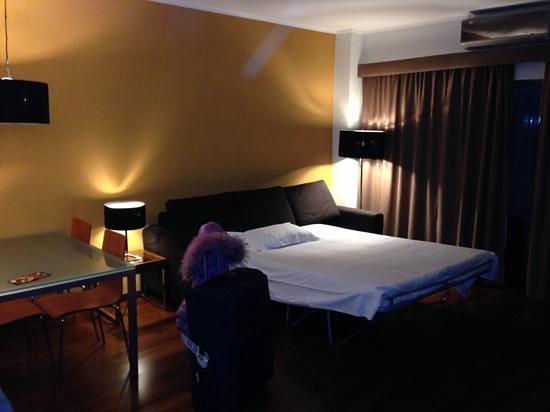 Clarion Suites Lisbon: sala della suites