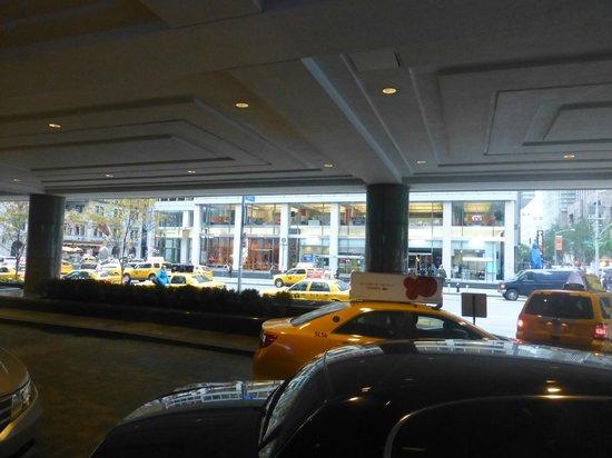 New York Hilton Midtown: Saliendo para la calle...