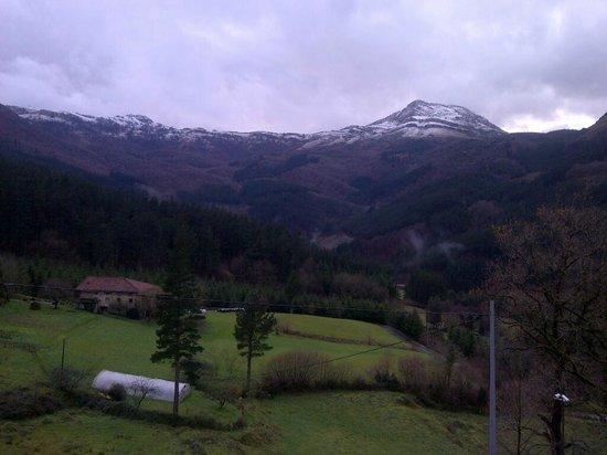 Hotel & Spa Etxegana: Blick auf die Berge vom Zimmer aus
