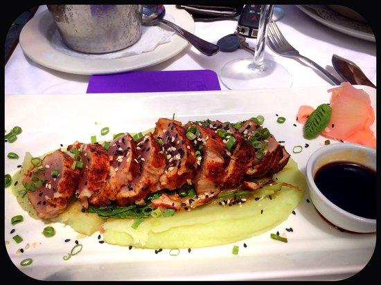 Mundo Vida: Seared tuna and wasabi Mash! Awesome