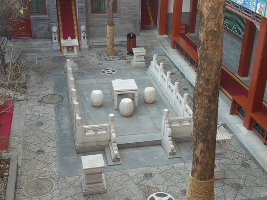 Han's Royal Garden Hotel: Cortile
