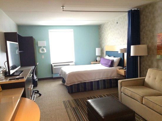 Home2 Suites by Hilton Philadelphia - Convention Center, PA: bedroom
