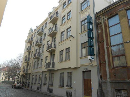Rixwell Old Riga Palace Hotel: Вид отеля