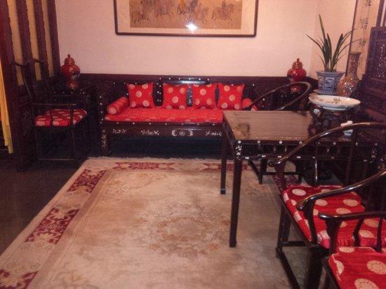 Han's Royal Garden Hotel : Salone