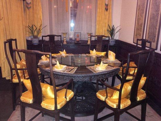 Han's Royal Garden Hotel : Ristorante