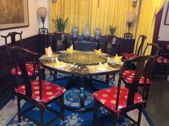 Han's Royal Garden Hotel: Ristorante