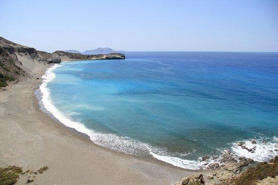 Plakias, Grækenland: Ливийское море. Пляжи Крита поражают своей красотой, чистотой и отсутствием людей.