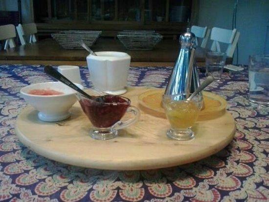 La Querencia de Valsain : desayuno