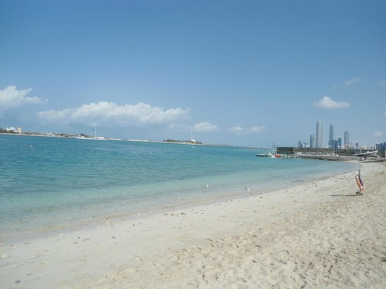 Hilton Abu Dhabi: private beach