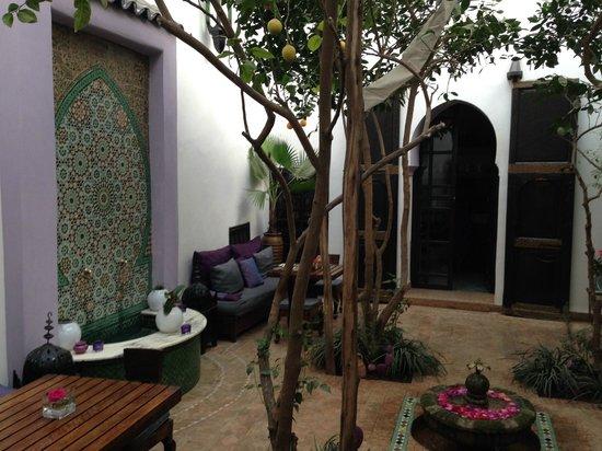 Riad Houdou: Le patio interieur