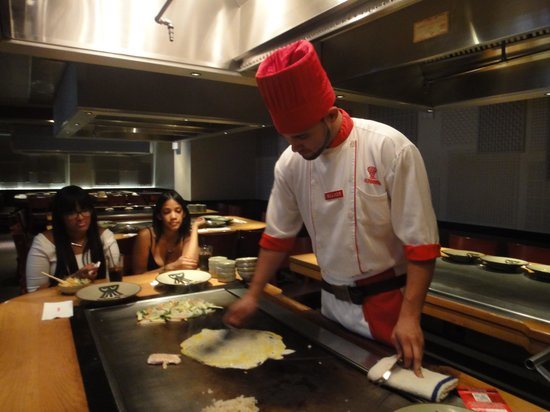 cocinero 1 - Picture of Benihana, New York City - TripAdvisor
