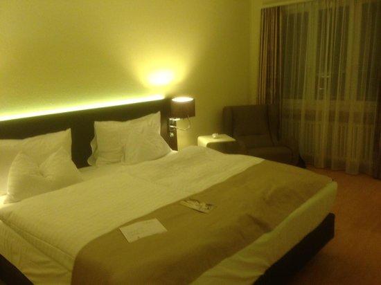 Hotel Spalentor Basel : Bedroom upgrade