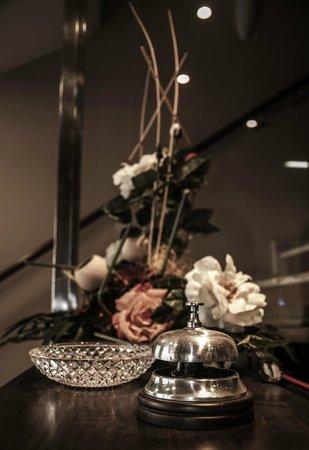 Hotel Casa Pipo: Recepción