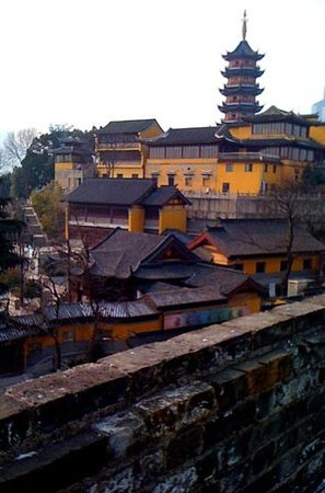 jiming temple from the old city ramparts.. feb'12  Annh