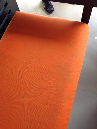 Bali Swiss Villa: moldy seat cushions