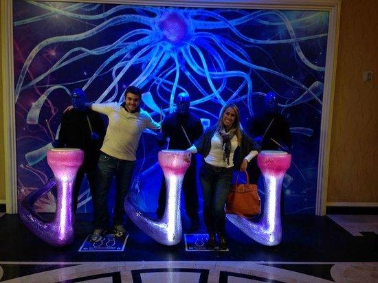 Monte Carlo Resort & Casino : Entrada do Blue Man Group