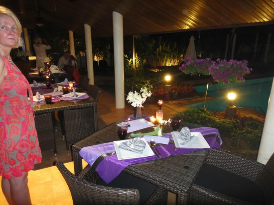 Phuket Baan Chang B&B : diner