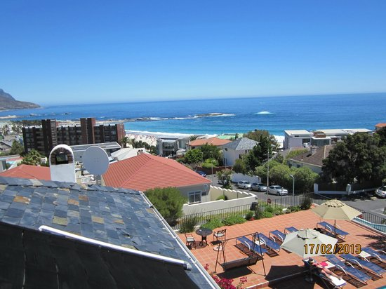The Bay Atlantic Guest House: From the veranda