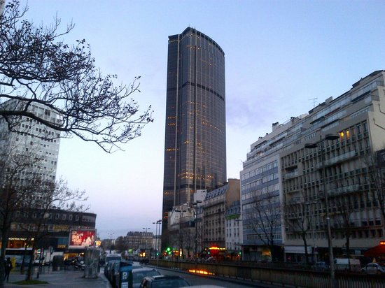 Veduta Tour Montparnasse Picture Of Pullman Paris