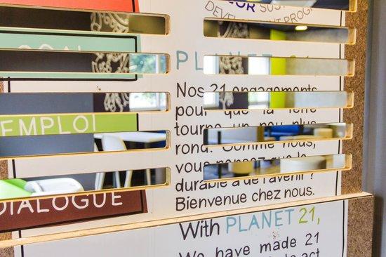 Ibis Budget Angoulême Centre : Planète 21