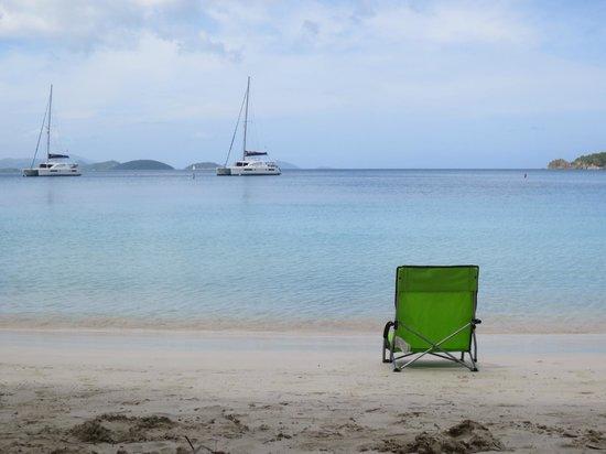 Concordia Eco-Resort : Typical St John beach