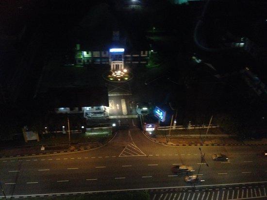 Hotel Selesa Johor Bahru: View from my room