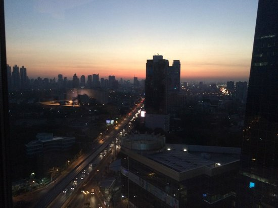 SO Sofitel Bangkok: View from room - sunrise