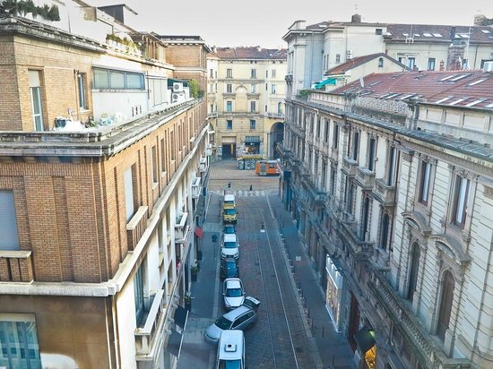 View from Rm 56, Hotel Spadari al Duomo