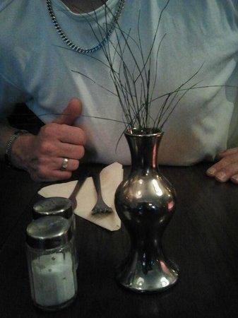 Delphi: het bloemetje op de tafels